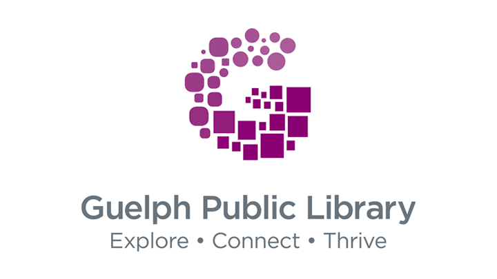 Guelph Public Library Logo After Rebrand